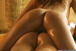 Exotic Beauteous Rub-down Tease