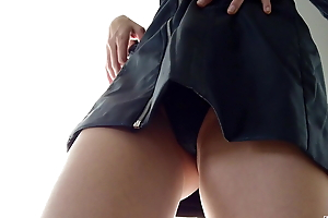 PERFECT PUSSY UPSKIRT VIEW, SPRING TRY Vulnerable HAUL
