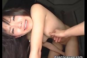 Teen asian hottie blotch butthole with sex