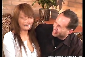 Interracial Swinger Operation With Asian MILF