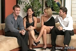 Sexy Housewives Holly Wellin And Kayme Kai Switch Their Husbands For Twosome Afterno