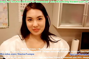 $Clov Mina Moon Gets Demanded Gyno Exam By Doctor Tampa
