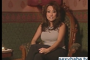Asian pornstar talks nasty increased by masturbates