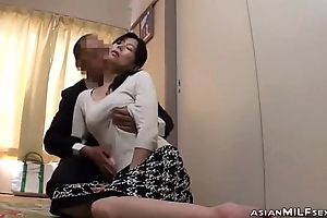 Milf Getting Say no to Tits Rubbed Nipples Sucked Pompously Blowjob Fucked By Man On A catch