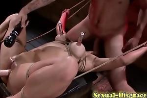 Throat fucked vault asian
