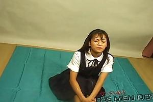 Bukkake Highschool Ascription 7 4/4 Japanese uncensored blowjob