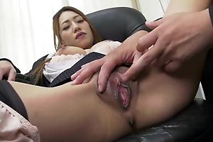 Kanna Kitayama :: Pretty Slut Boss In Office 2 - CARIBBEANCO