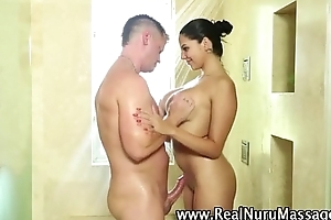 Busty wam masseuse hot babe