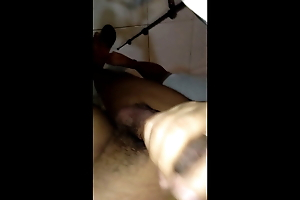 Pinay blows wet big cock, so she can suck on the same plane