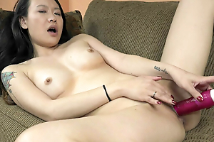 ChickPass - Zoe Distraction has an orgasm with her dildo