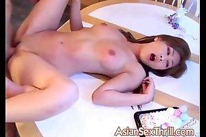 Japanese slut pounding on blow-out party