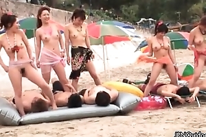 Sexy Japanese bring about of girls getting