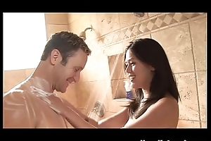 Bath and Shower Anent Asian Massage Babe