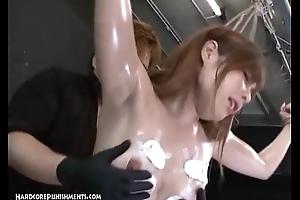 Japanese Bondage Sex - Extreme BDSM Punishment be incumbent on Ayumi