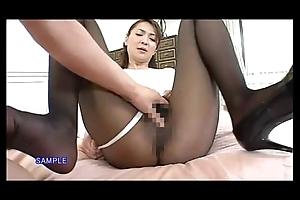Japanese porn fetish low-spirited woman pantyhose sex