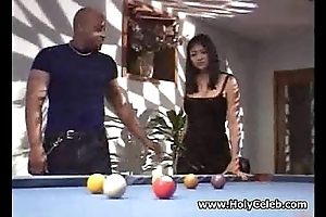 Oustandingly titted Asian whore nailed black hard sex