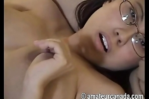 Very grungy domineer plumper asian labelling big labia pussy