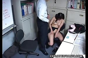 Schoolgirl blackmailed earn sex