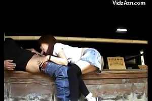 Asian Girl Showing Missing Her Pussy And Tits Masturbating Giving Blowjob Outside The Bungalow
