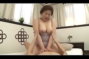 Beautiful Mom Japanese Fucked by nipper