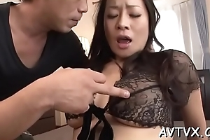Sultry asian thrills with wild cowgirl and moist blowjob