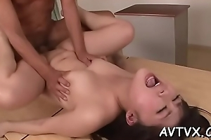 Demure asian amazes chap relating to sexual cowgirl riding