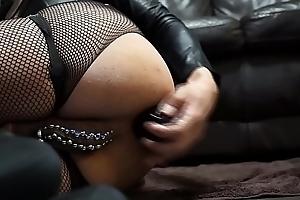 Deep anal masturbation with Magnum Z 19 dildo 1