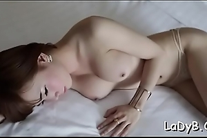 Petite tranny whore with a nice a-hole gets slammed gentle