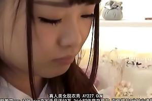 Japanese schoolgirl be thrilled by far step dad far aphrodisiac