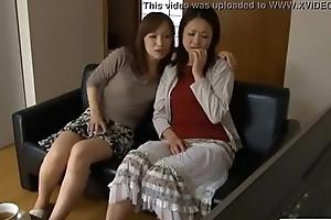 LesbianCums.com: Korean Stepmom Seduced Wits Lesbian Teen