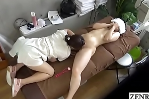 JAV CFNF of a female lesbian massage MILF oral sex treatment Subtitled