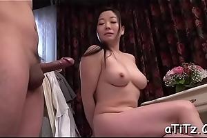 Perverted japanese tits scrutiny