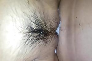 Cummed tight korean pussy