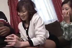 Japanese video 651 wife and Dusky cock 3P