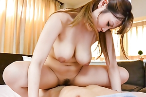 Busty Rion Nishikawa in naughty  - More at Japanesemamas.com