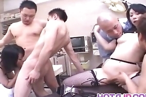 Izumi Okazaki hot group fucking occurring - More at hotajp.com