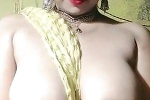 Desi Sexy Big Teat and Big Bore Enactment For Boyfriend..