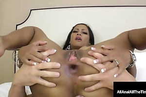 Beamy Boobed Cambodian Cougar Maxine X Gets Anal Pounded!