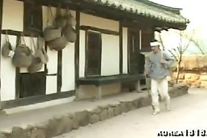 traditional Korean woman, finale