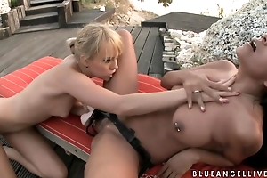Oral Great Blue Benefactor And Yoga Galvez Sex