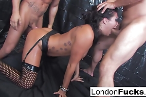 Nacho Vidal And Toni Ribas Beset London Keyes