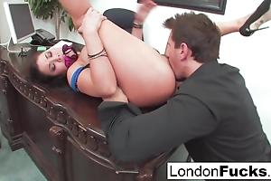 London Gets Bent Over and Meeting Fucked