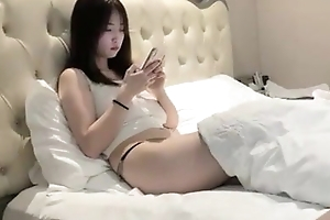 Looks innocent with the addition of hot body big tits girl hotel 3P sex