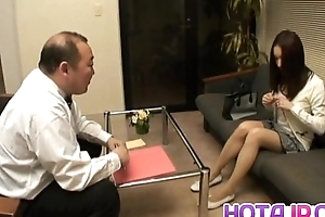 Nozomi Mashiro Asian doll gets pussy spread and masturbated in redress up