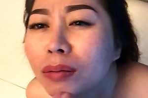 Coach Vietnamese mouth improbable and tamed with lasting cock