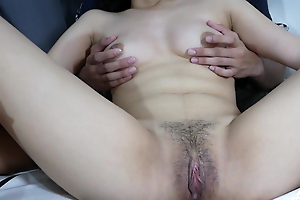 Tight Pinay pussy gets fingered wide of her neighbor