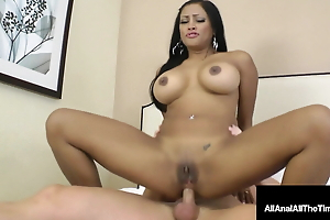 Crazy Busty Maxine X Takes A Throbbing Load of shit In Her Behind!