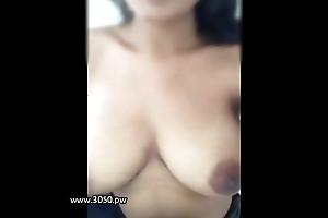 Elegant girl remove the clothes