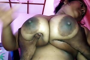 Big Sri Lankan boobs