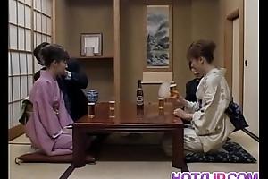 Milf in heats Mio Okazaki enjoys a debauched fuck